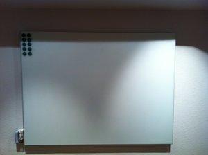 Glasskrivtavla 138X1020X51 mm