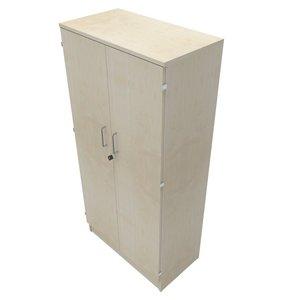 Förvaring med dörrar B:800mm H:4xA4 D:435mm
