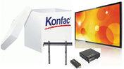 Skärmpaket  2 - Trådlös överföring, skärm, väggfäste