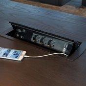 Powerbox 3 el, nät, VGA, HDMI, ljud