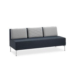 Soffa PLAYBACK 3-sits rak