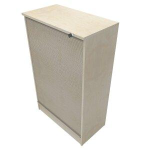 Förvaring med jalusi (3xA4) B:800mm H:3xA4 D:435mm