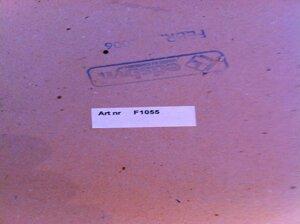 Skiva 600X600 mm, bok, combino