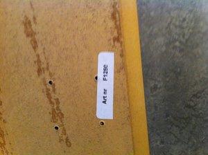 Skiva 800x800 mm, ek