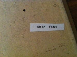 Skiva Björk 600x310 mm