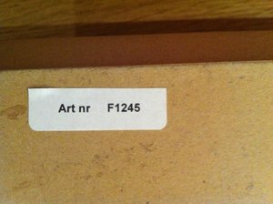 Skiva Björk 600x310 mm inkl beslag