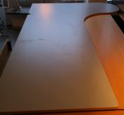 Skiva skrivbord