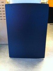 Skiva 800x1150 mm svart laminat