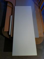 Skiva E-POS vit laminat 1400 X 500 MM