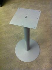 Pelare 810 mm hög silver