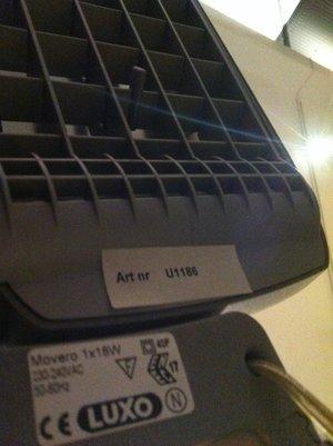 Skrivbordslampa MOVERO